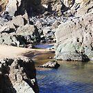 Rocks Sea and Sand - Marloes Beach, Wales by Daisy-May