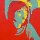 Pop Art Self Portrait by Amy Greenberg