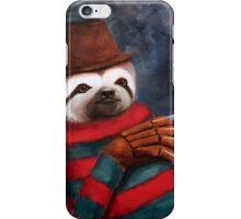 Nightmare on Elm Street Sloth iPhone Case/Skin
