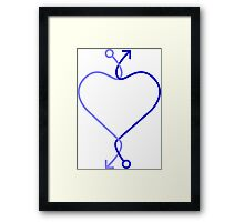 Gay Love Framed Print