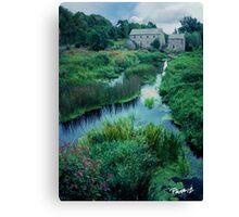 Mill and Stream - Ireland Series Canvas Print