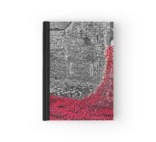 Cascade Of Poppies Hardcover Journal