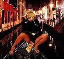 Fashion In Venice Fine Art Print by stockfineart
