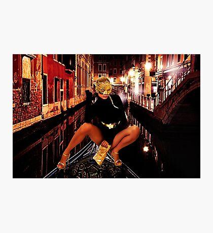 Fashion In Venice Fine Art Print Photographic Print
