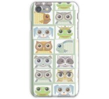 Portraits Of Animal Friends iPhone Case/Skin