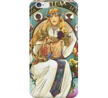 Art Nouveau Zelda Print iPhone Case/Skin