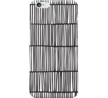 Doodle pattern. Abstract background with ink strokes. iPhone Case/Skin