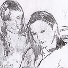 Emma and I by blondie1sammo