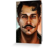 Dorian Greeting Card