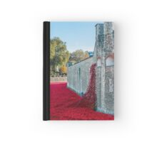 Cascading Poppies, Tower of London Hardcover Journal