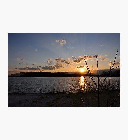 Ohio Sunset Photographic Print