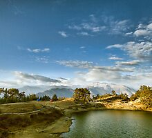 The Himalayan Lake Deoria by soumen