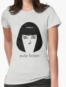 Pulp Fiction by burro Womens Fitted T-Shirt