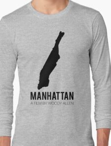 Woody Allen's Manhattan Long Sleeve T-Shirt