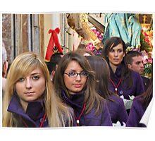 """Misteri"" 2010 - The procession Poster"