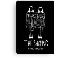 Stanley Kubrick's The Shining Twins! Canvas Print