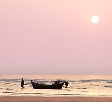 Pink Dawn on a Fisherman's Life by SeeOneSoul