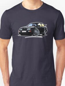 Ford Sierra Cosworth Black Unisex T-Shirt