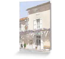 """Les Glycines"", Marthon, France Greeting Card"
