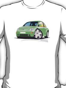 VW New Beetle Green T-Shirt