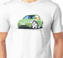 VW New Beetle Green Unisex T-Shirt