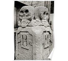 Skulls, Matera, Basilicata, Italy Poster
