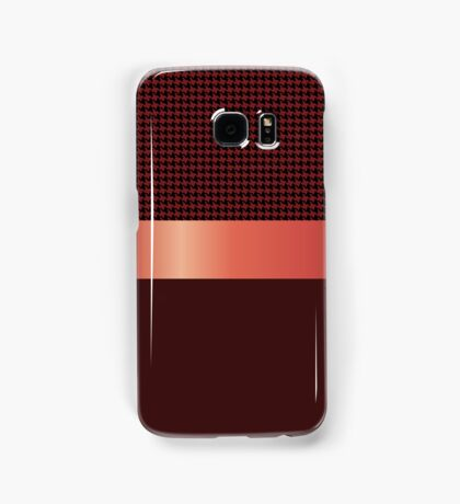 Houndstooth design. Samsung Galaxy Case/Skin