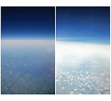 Heavenly Earth Photographic Print