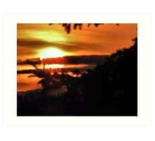 Easter Sunrise....2010 Art Print