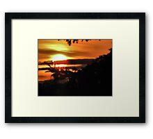 Easter Sunrise....2010 Framed Print