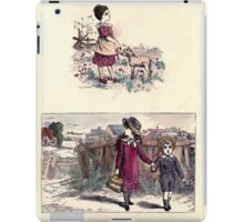 The Little Folks Painting book by George Weatherly and Kate Greenaway 0185 iPad Case/Skin