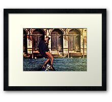 Venice Angel Fine Art Print Framed Print