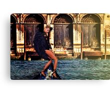 Venice Angel Fine Art Print Canvas Print