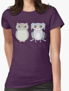 Cool Owl and Lanky Dog T-Shirt