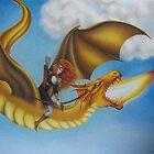 Fire Dragon - Black Book of Arda  by lanadi