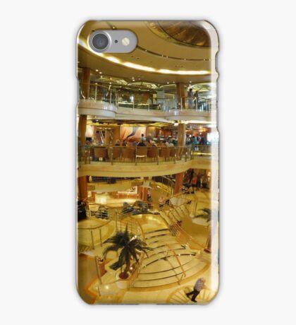 Cruise ship panorama iPhone Case/Skin