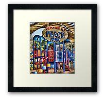 Peace Park Framed Print