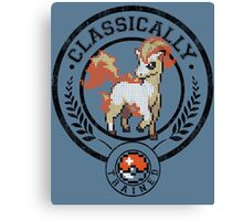 classically trained pokemon Canvas Print