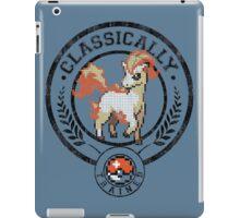classically trained pokemon iPad Case/Skin
