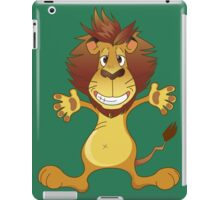 Friendly smiling lion iPad Case/Skin