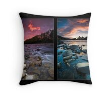 Easter Dawn Tetraptych Throw Pillow
