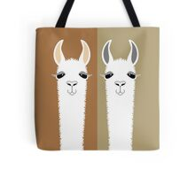 LLAMA COUPLE Tote Bag