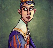 Prince Fluff Gijinka Portrait by Lennonhead