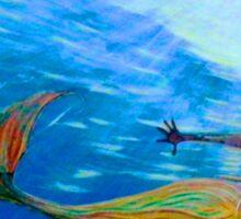 Mermaid Art  M 07 Sticker