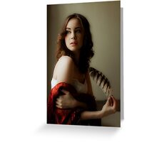 Renaissance Portrait Greeting Card