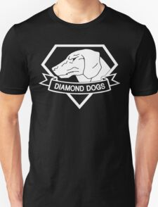 MGSV - Diamond Dogs (white) Unisex T-Shirt