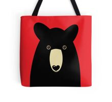 BLACK BEAR PORTRAIT  #2 Tote Bag
