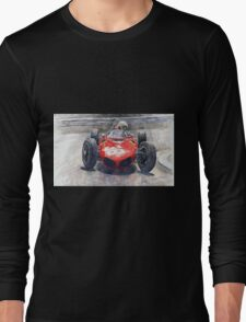 Ferrari 156 Sharknose Phil Hill Monaco 1961 Long Sleeve T-Shirt