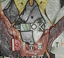 I Awoke - Leonardo da Vinci (Wrapped) Sticker