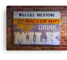 Drink Milk Canvas Print